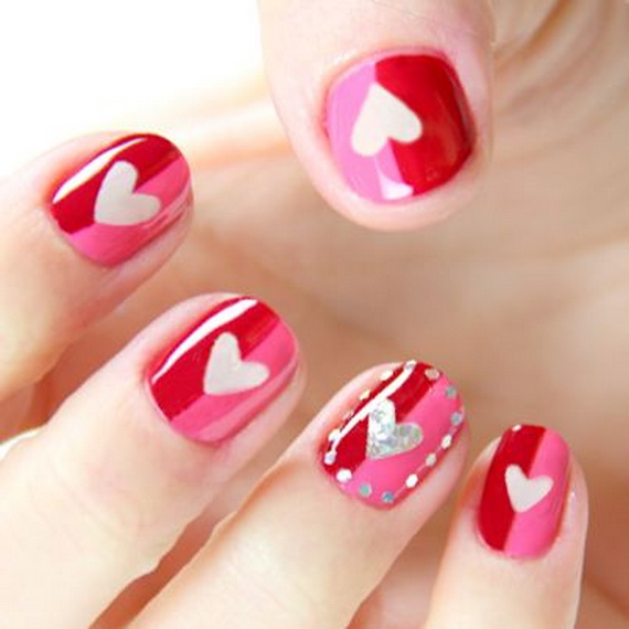 70-Lovely-Valentine's-Day-Inspired-Nail-Art-Ideas_48
