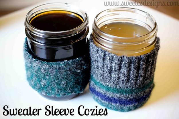 Sweater Sleeve Cozie