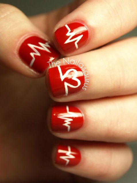 15 Valentines Day Nail Art Ideas Youll Fall In Love With
