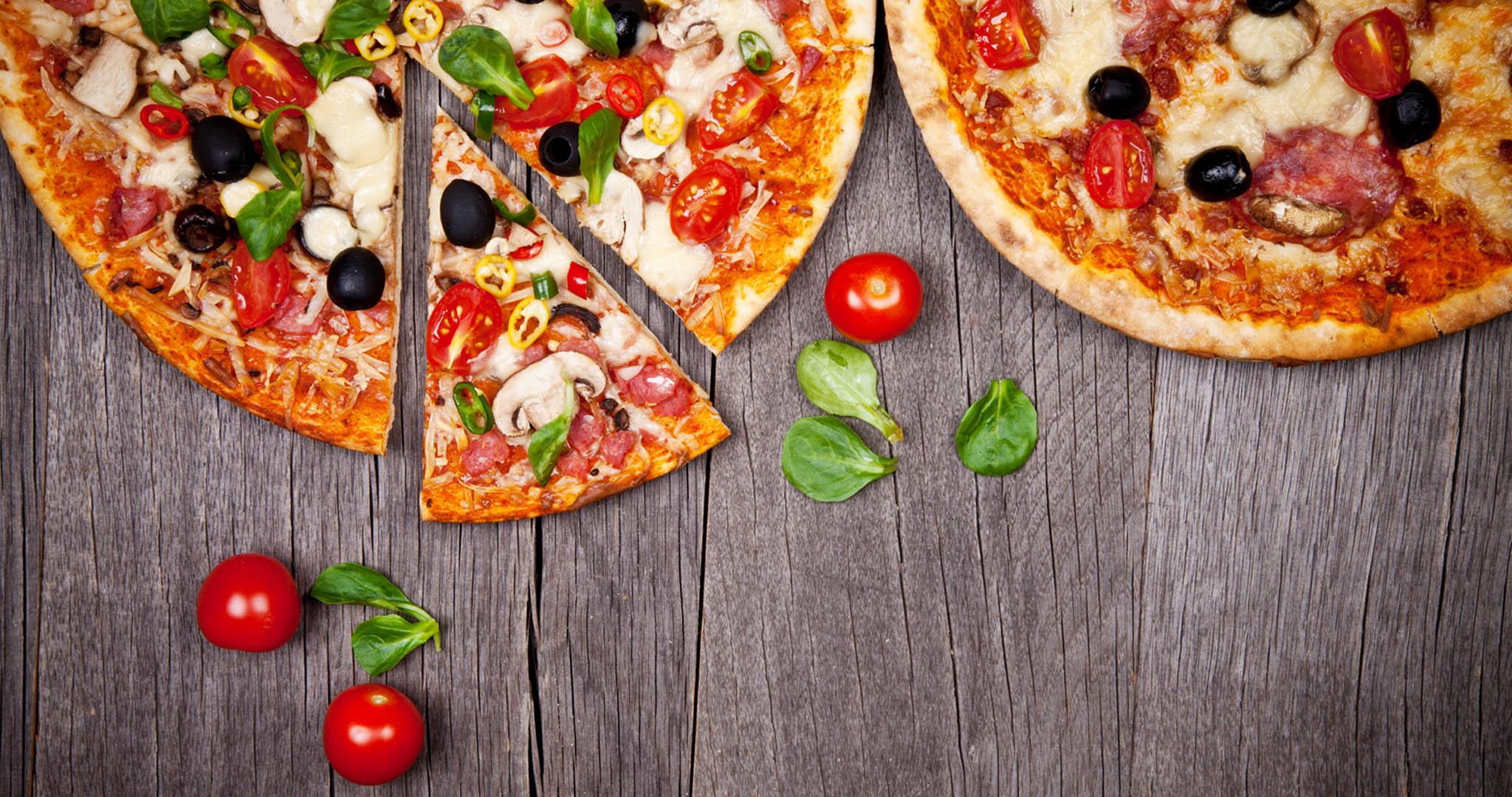 pizzas avec garniture