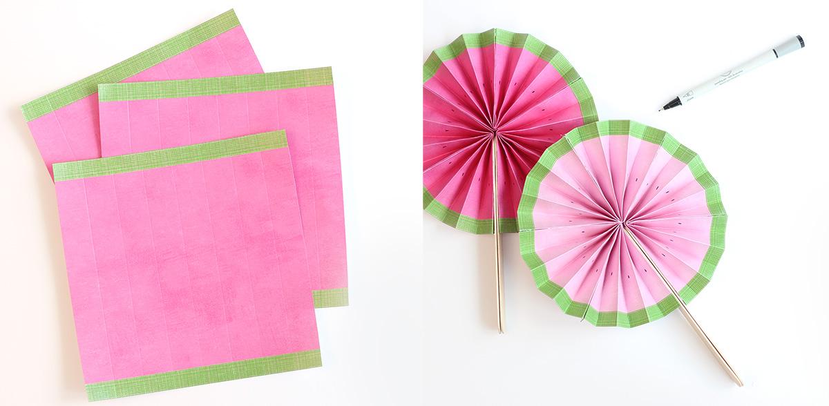 watermelon fan