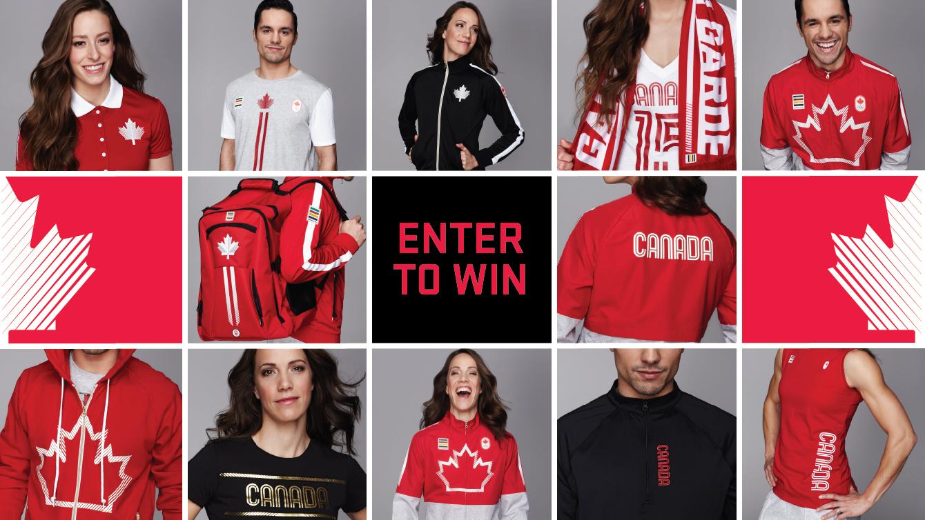 official Rio 2016 Team Canada Kit