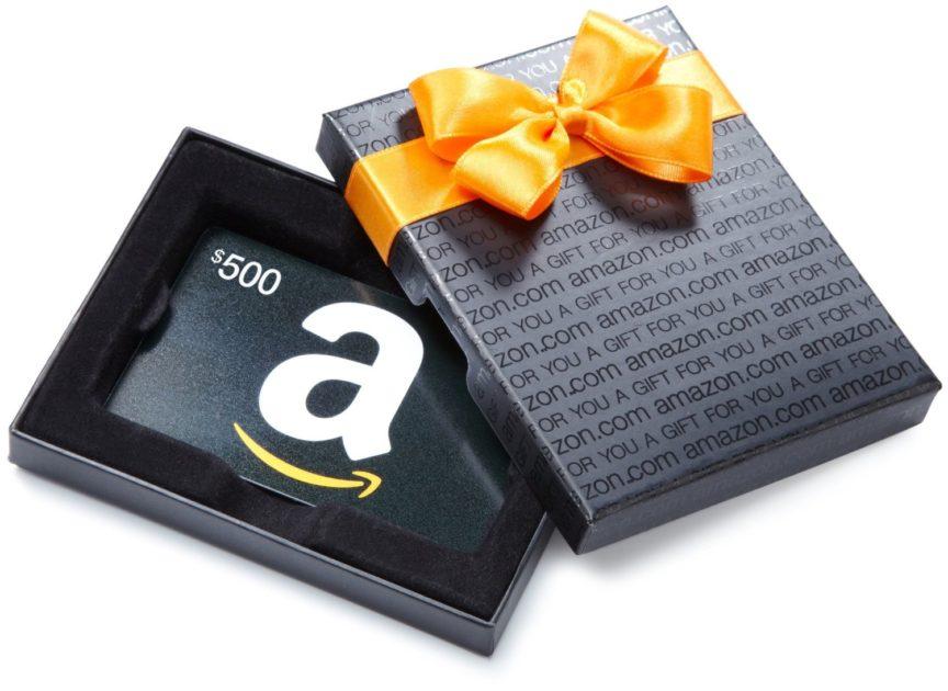 Amazon Gift Card e1526472233809