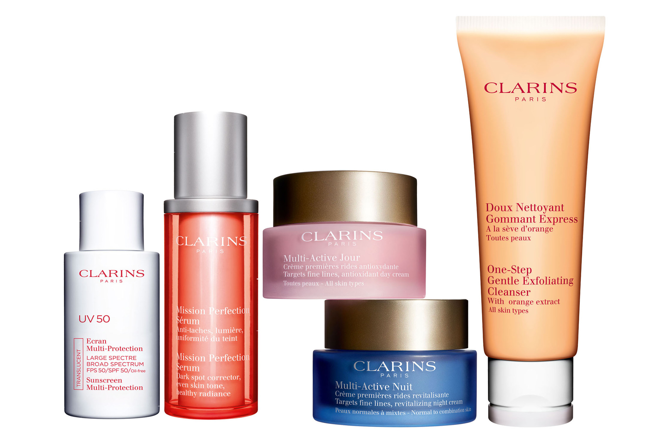 clarins prize pack contest