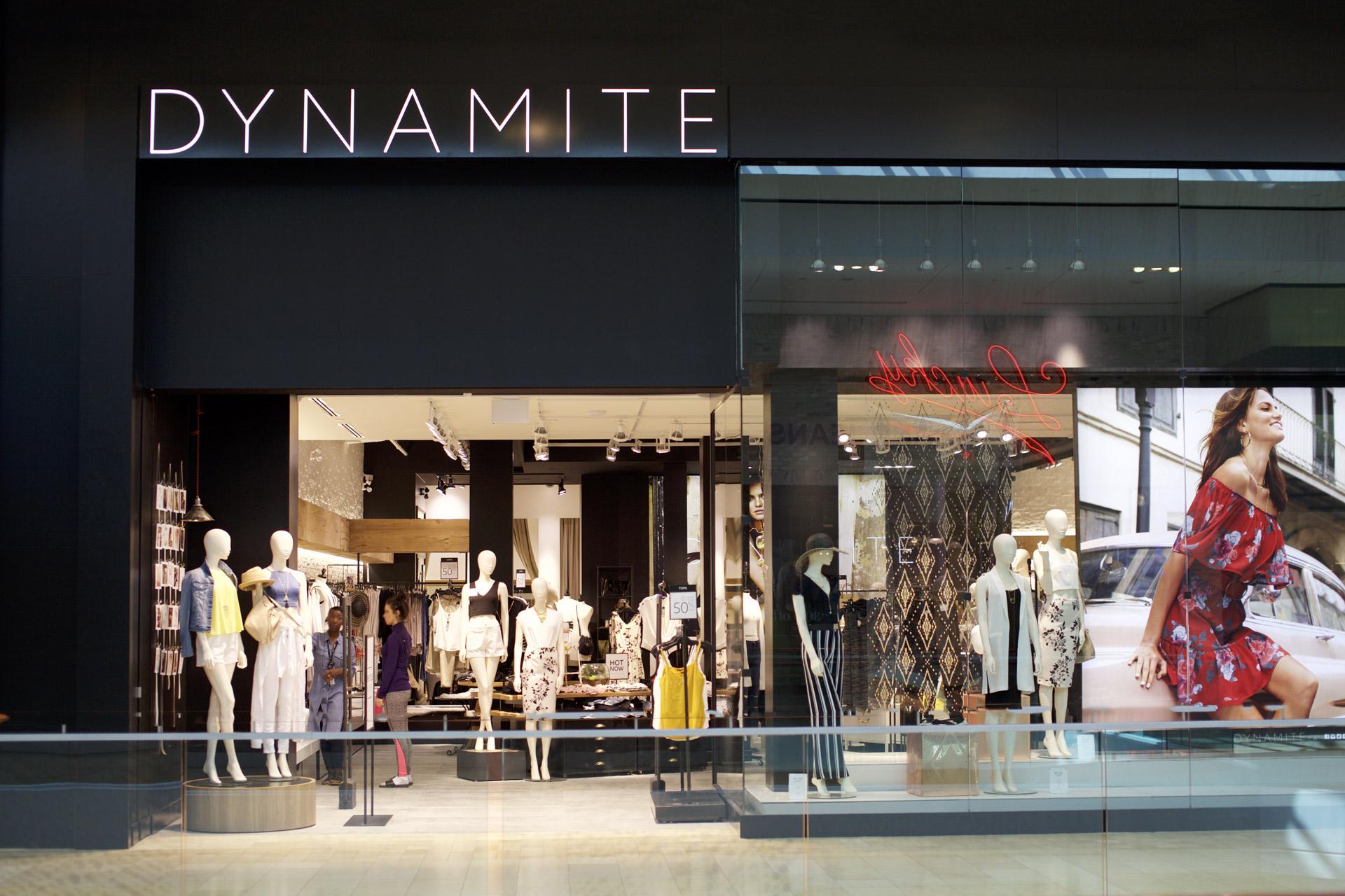 dynamite storefront