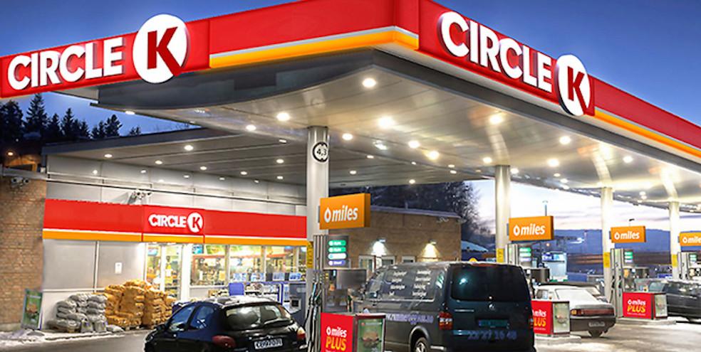 Circle K Store and Gas Station Macs Rebrand 2015
