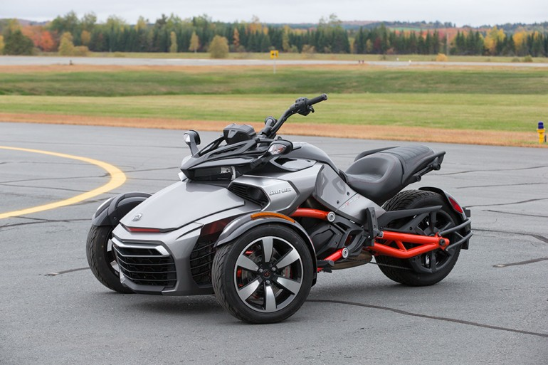 can Am Spyder F3 Vehicle