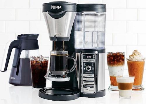 ninja cofee bar coffee maker system sample drinks