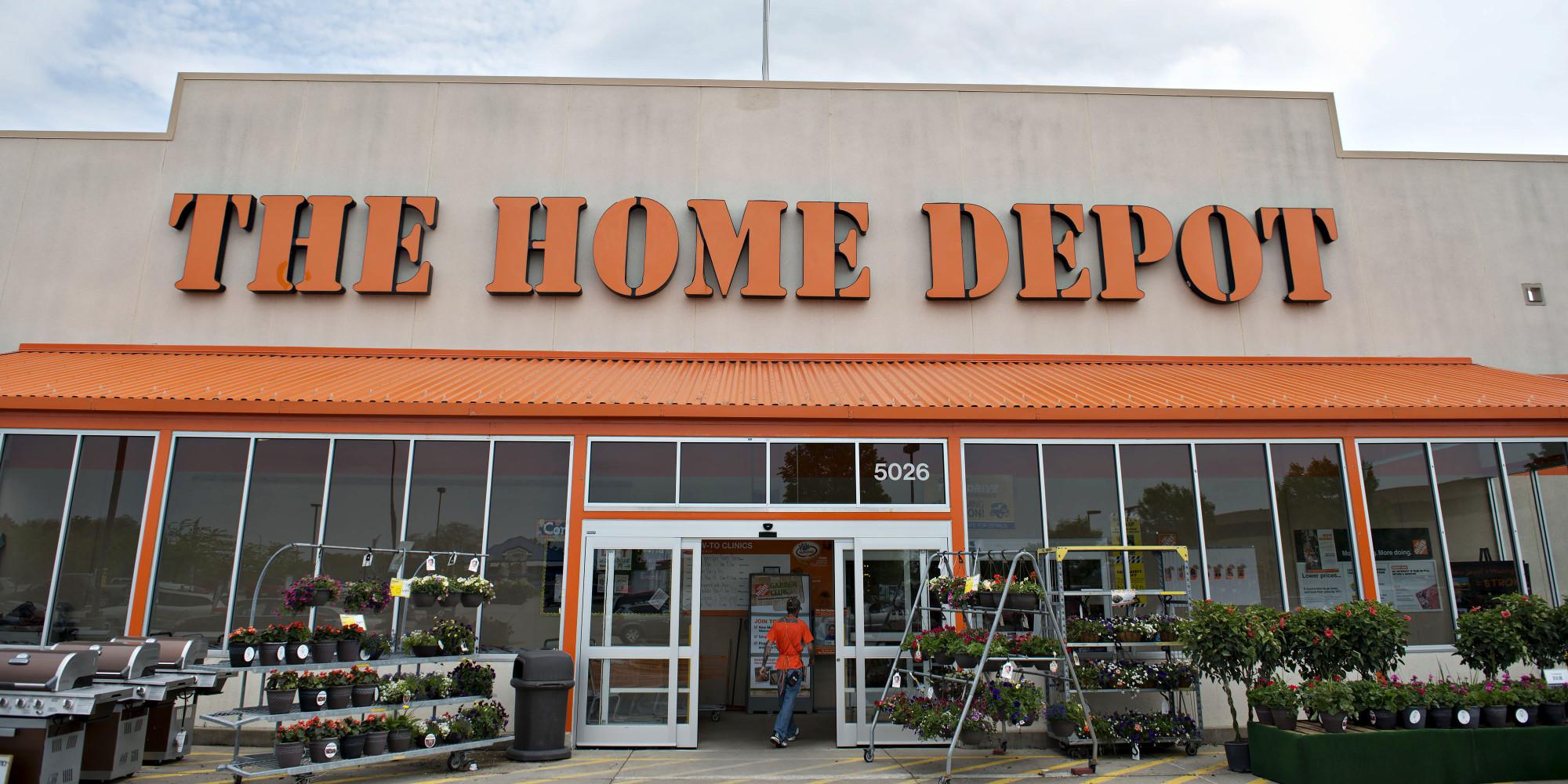 o THE HOME DEPOT facebook