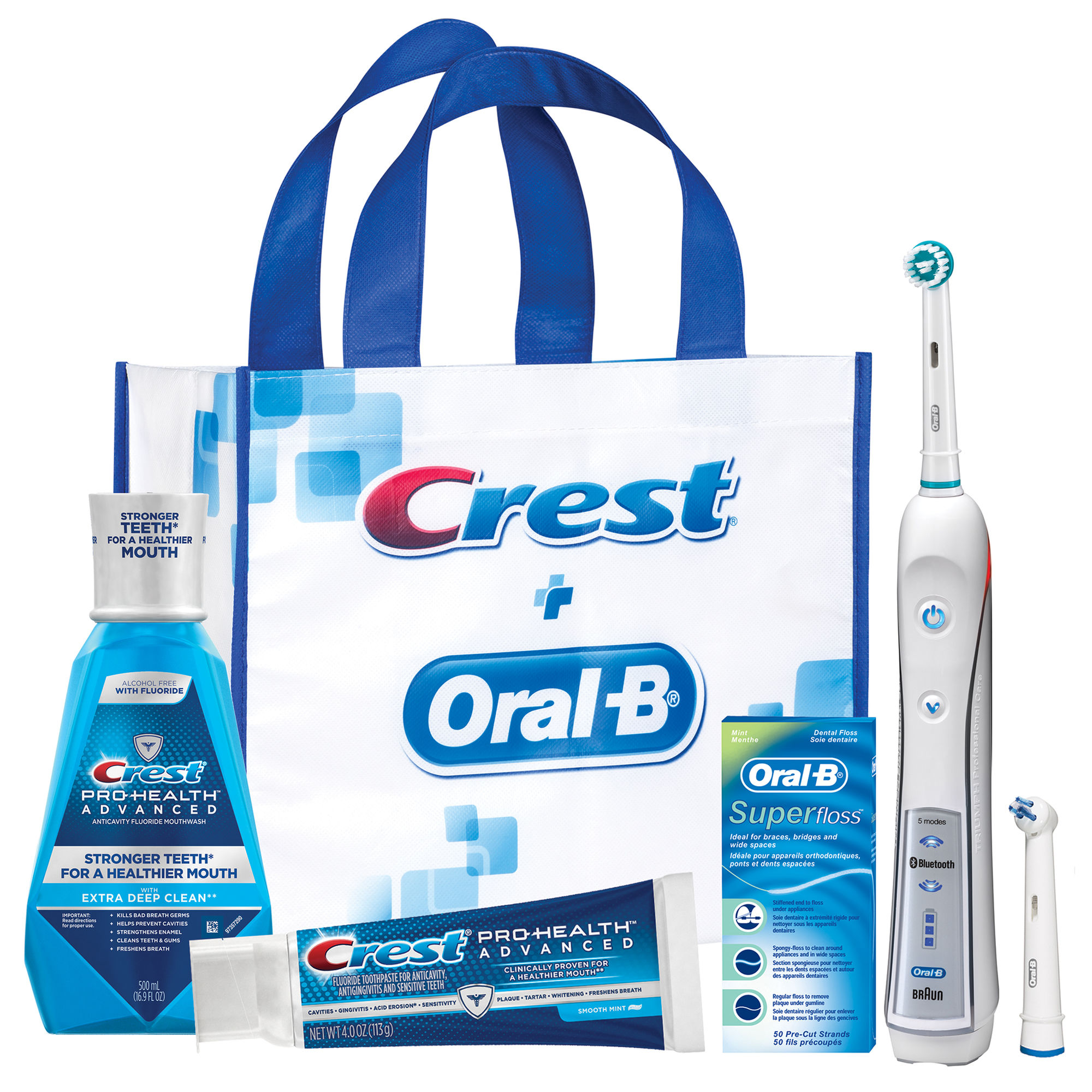 Crest and Oral B