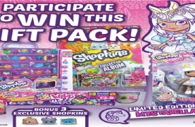WIN a Beautiful Shopkins Prize Pack!