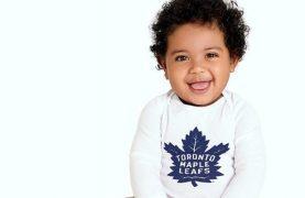 FREE Maple Leafs Lil` Leafs Bodysuit