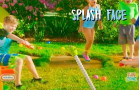 WIN Fun Zone Splash Face