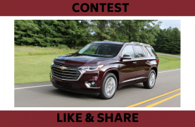 WIN the New Chevrolet Traverse