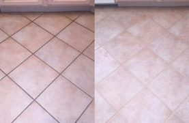 How to effectively clean tile joints