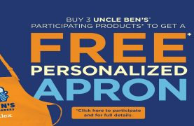 Uncle Ben's: Get a free personalized apron