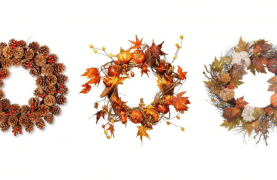 MAKE Fall Wreaths for FREE