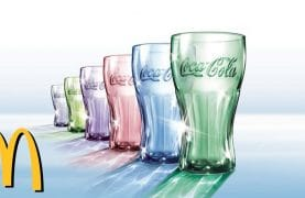 FREE Collectible Coca Cola Glasses Now Available!!