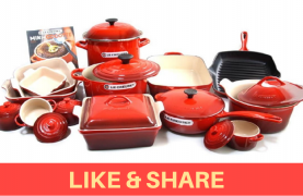 WIN a $ 3740 Le Creuset Cooking Set