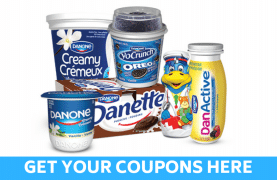New Danone coupons to print!