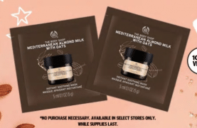 Get your FREE Body Shop Mask Set- Go!