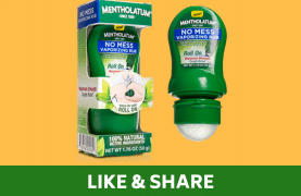 Receive a FREE Mentholatum Sample !