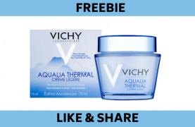 FREE Samples of Vichy Mineral89 and Aqualia Thermal Light Cream