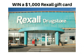 WIN a $1,000 Rexall gift card