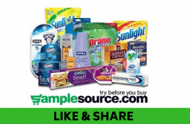 Hurry! Your SampleSource Autumn Sample Box is AVAILABLE!