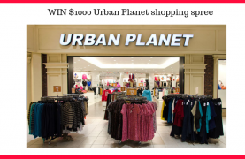 WIN a $1000 Urban Planet shopping spree for you and your Bestie!