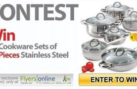 WIN a 12-piece Cookware Set
