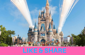 A family trip to Walt Disney World in Orlando to WIN
