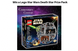 Win a Lego Star Wars Death Star Prize Pack