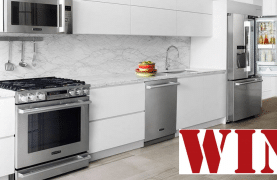 WIN an $8,100 LG Kitchen Suite