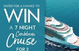 WIN a dream cruise for 2 in the Caribbean