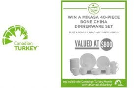 WIN a $800 40-piece Bone China Dinnerware set