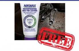 FREE Nikwax Waterproofing sample for Leather