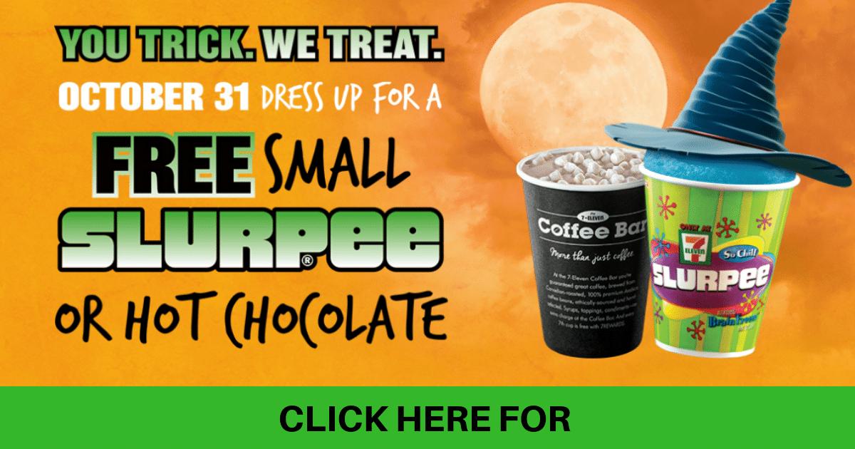 free slurpee