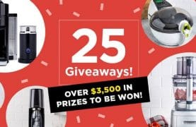 WIN over $3,500 in prizes from Kitchen Stuff Plus!