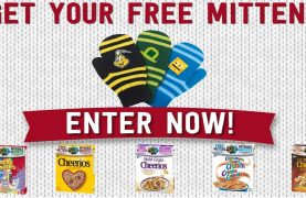 75,000 FREE Mittens from General Mills!