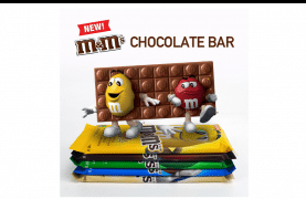 M&M's Canada NEW Chocolate Bar!