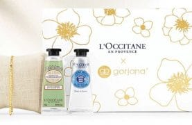 FREE Gorjana bracelet and 2 creams from L'Occitane