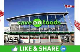 WIN $1,000 Save On Foods Gift Card