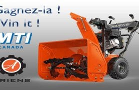 Ariens Classic 24 snowblower to WIN