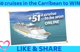 50 cruises in the Carribean to WIN!