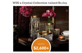 WIN a Crystal Collection valued $2,625