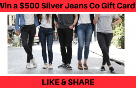 Win a $500 Silver Jeans Co Gift Card