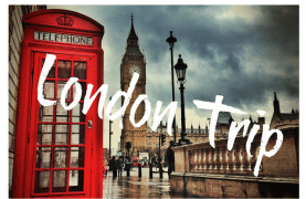 WIN a Trip for 2 to London, England