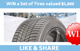 Continental Tire Contest: WIN a Set of Tires valued $1,800