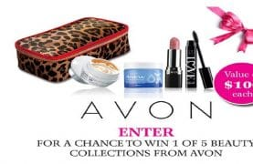 WIN 1 of 5 Avon Beauty Collections valued $100 each